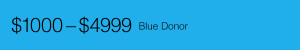 Donor levels - Blue